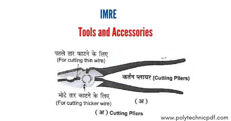 tools and accessories - cutting pliers