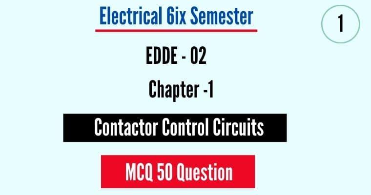EDDE 2 MCQ Questions pdf free download by polytechnicpdf