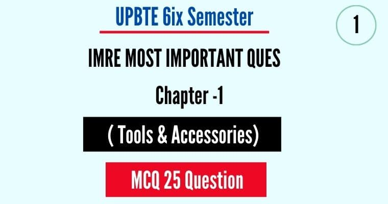 tools and accessories mcq questions