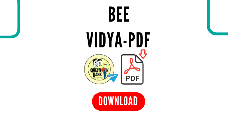 BEE VIDYA PDF Download free sample by polytechnicpdf